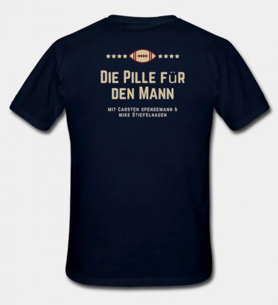 T-Shirt 'Pille für den Mann' Logo
