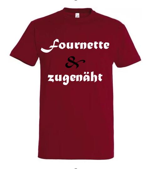 T-Shirt 'Fournette und zugenäht'