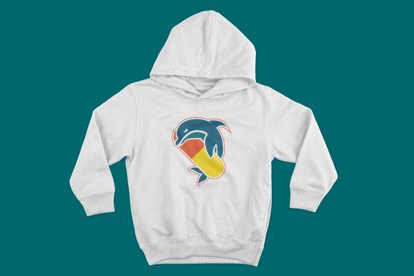 Hoodie Pillphins Logo Groß