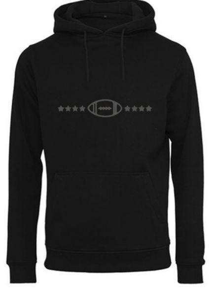 Hoodie 'Pillendesign'' Black Edition