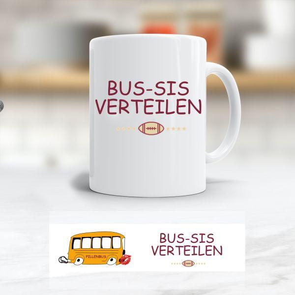 Tasse 'Bus-sis verteilen'