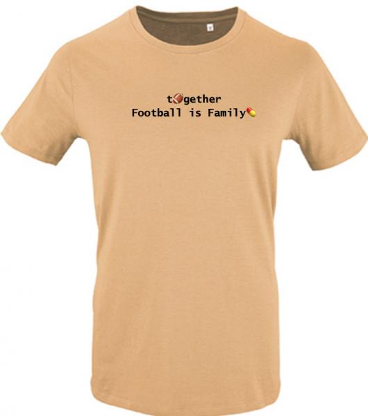T-Shirt 'Together - Football is famliy'