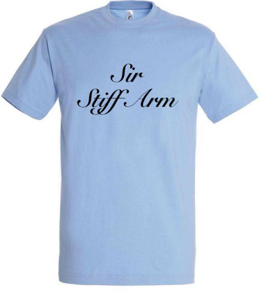 T-Shirt 'Sir Stiffarm'