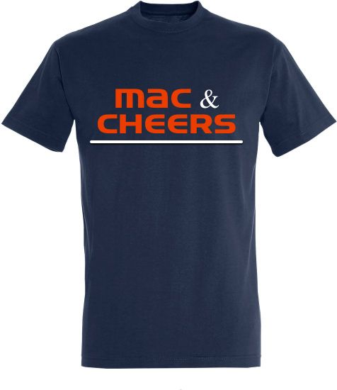T-Shirt 'Mac & Cheers'