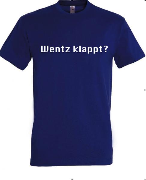 T-Shirt 'Wentz klappt?'