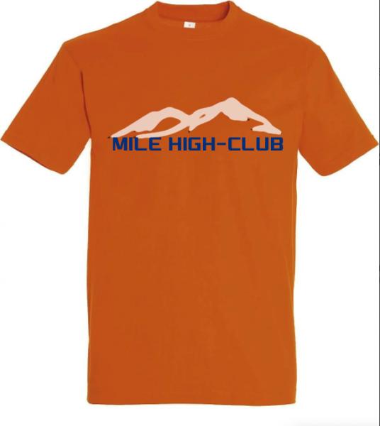 T-Shirt 'Mile High-Club'