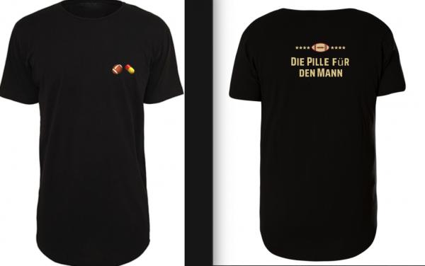 Long Tee Shirt 'Die Pille für den Mann'