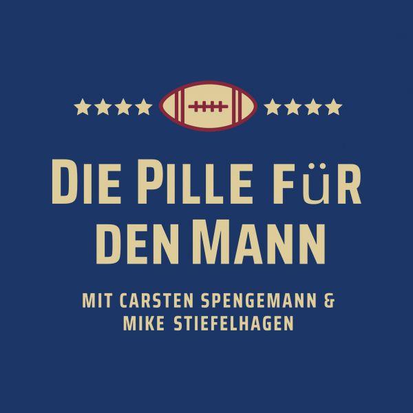 Poster 'Die Pille für den Mann' 60x60cm