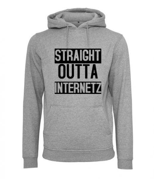 Hoodie Straight Outta Internetz
